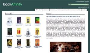 bookAffinity, un espacio para compartir opiniones sobre libros