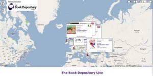 BookDepository crea una cartografía de los compradores de libros