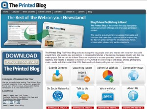 The Printed Blog, un punto de encuentro alternativo entre lo analógico y lo digital