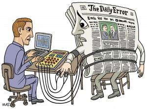 Soluciones absurdas para la crisis en la prensa