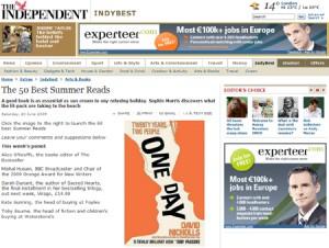 Las 50 mejores lecturas de verano, según <em>The Independent</em>