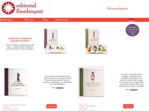 Editorial Flamboyant: libros para conocer en digital y degustar en analógico