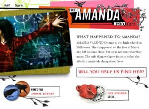 El Proyecto Amanda de HarperCollins