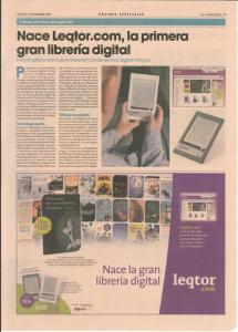 Leqtor, primera librería y eReader que se anuncia en prensa, pero ¿con trampa?