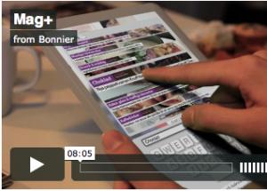 Bonnier anuncia Mag+, un prototipo de tablet para leer revistas digitales
