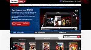 Sony lanza un lector de cómics digitales para la PSP