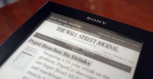 Sony y News Corporation llegan a un acuerdo para ofrecer noticias a través del Sony Reader Daily Edition