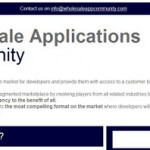 Wholesale applications community