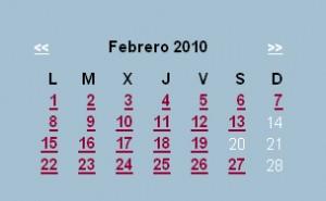 Agenda editorial de febrero – semana 4