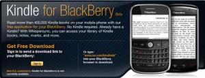 Amazon lanza Kindle para la BlackBerry