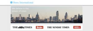 Los diarios The Times y The Sunday Times cobrarán a sus lectores a partir del mes de junio
