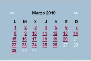 Agenda editorial de marzo – semana 3