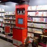 Máquina venta libros digitales en librerías