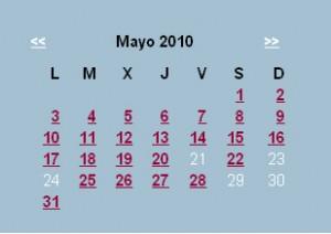 Agenda Editorial de mayo – semana 3