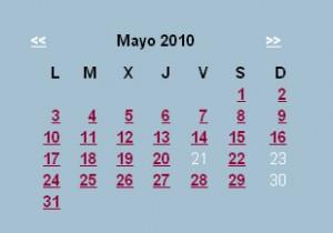 Agenda editorial de mayo – semana 4