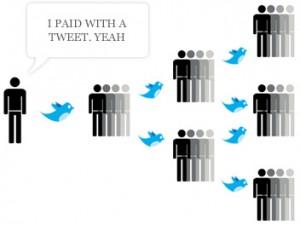 Págame con un tweet
