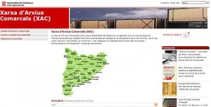 Nuevo portal web para la Xarxa d'Arxius Comarcals de Catalunya