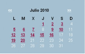 Agenda editorial de julio – semana 1