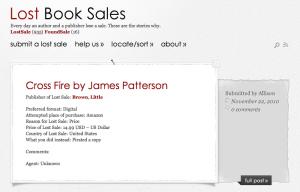 La web de las ventas perdidas
