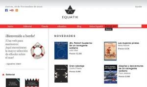 Equatik, el primer portal náutico en castellano para la edición y distribución de libros digitales