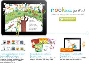 Barnes & Noble lanza NOOK Kids, aplicación de lectura para libros infantiles