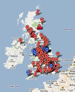 Más de 300 bibliotecas del Reino Unido, a punto de cerrar