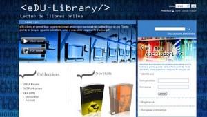 Nace eDU-library, portal de lectura de libros electrónicos académicos en línea