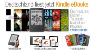 Amazon estrena tienda de libros Kindle en Alemania
