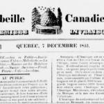 L'Abeille canadienne