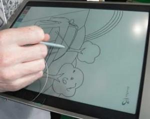 Bridgestone presenta un prototipo de pantalla de tinta electrónica en color