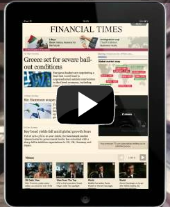 El <em>Financial Times</em> lanza una aplicación web para iPad y iPhone