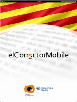 elCorrector, primer corrector gramatical de catalán para iPhone y iPad