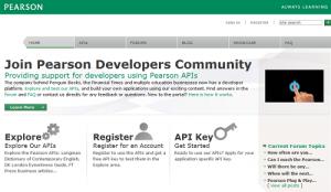 ¿Deberían los editores abrir sus contenidos a los desarrolladores? Pearson ya lo ha hecho