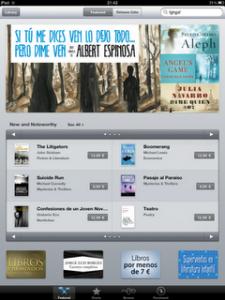 Apple abre tienda iBookstore en 25 países europeos