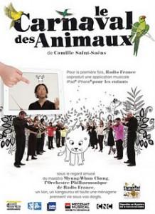 France Televisions publica el libro musical Le Carnaval des Animaux, de Saint-Saëns, en versión para iPad