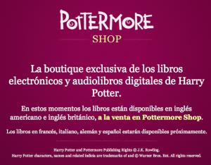 Pottermore, la librería de <em>Harry Potter</em>, cambia las reglas del juego editorial