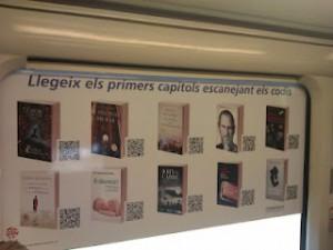Campaña de fomento de la lectura con códigos QR