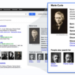 marie curie_google knowledge graph