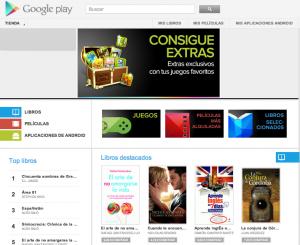 Google Play Books ya funciona en España