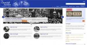El Archivo Churchill, en línea y por suscripción