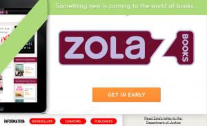 ¿Hacia la librería perfecta? La plataforma Zola Books lo parece (sobre el papel)