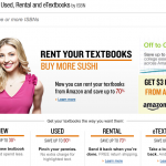 Amazon rental