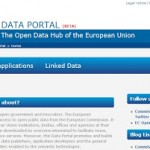 Data portal UE_home