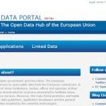Data portal UE_home