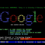 Google Images BBS terminal