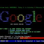 Google Images BBS terminal