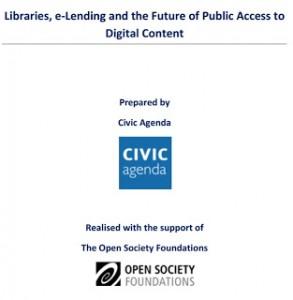 Bibliotecas, préstamo electrónico y el futuro del acceso público a los contenidos digitales
