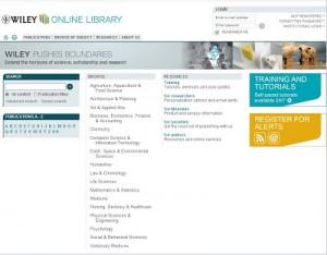La editorial Wiley, vía Research4Life, pone en línea 12.200 libros académicos destinados a países en desarrollo