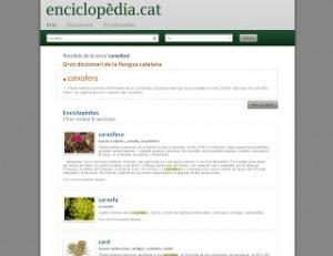 Enciclopèdia Catalana relanza el nuevo portal de enciclopedia.cat