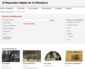 La Filmoteca de Cataluña abre su Repositorio digital